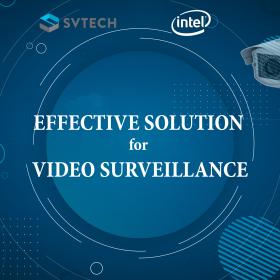Giải pháp tối ưu cho camera giám sát