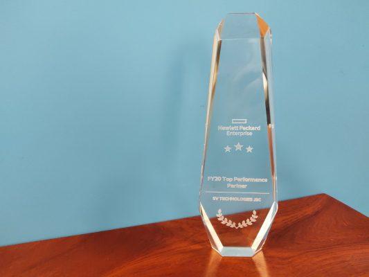 Giải thưởng dành cho đối tác xuất sắc năm 2020